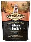 Carnilove Carnilove Salmon & Turkey for Large breed puppy (1.5 кг)