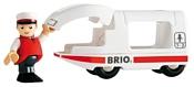 Brio Локомотив с купе и машинистом 33508