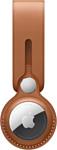Apple кожаный с подвеской для AirTag (золотисто-коричневый) MX4A2