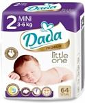 Dada Premium Little one 2 Mini 3-6 кг (64 шт.)