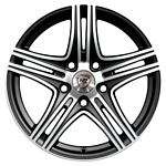 NZ Wheels F-6 6.5x15/4x100 D60.1 ET50 GMF
