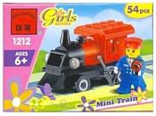 Enlighten Brick Для девочек 1212 Мини-поезд