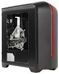 FOX 6601BR w/o PSU Black/red