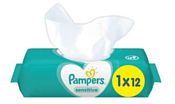 Pampers Sensitive 12 шт