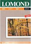Lomond матовая двухсторонняя A4 220 г/кв.м. 25 листов (0102148)