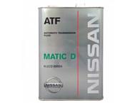 Nissan ATF Matic Fluid D 4л