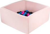 Misioo 90x90x40 200 шаров (светло-розовый)