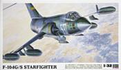 Hasegawa Истребитель F-104G/S World Starfighter