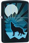 Zippo Wolf and Moon Design 29864