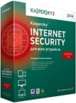 Kaspersky Internet Security (5 ПК, 1 год, диск)