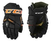CCM Tacks 6052 JR (черный/оранжевый, 12 размер)