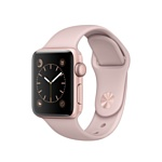 Apple Watch Series 1 38mm Rose Gold with Pink Sand Sport Band (MNNH2)
