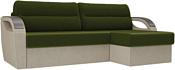 Лига диванов Форсайт 100782 (бежевый/зеленый)