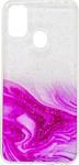 EXPERTS Aquarelle для Samsung Galaxy M31 (ярко-розовый)