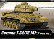 Academy Tанк German T-34/76 747(r) 1/35 13502