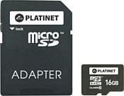 Platinet PMMSD1610 16GB + SD adapter