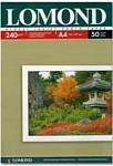 Lomond глянцевая односторонняя A4 240 г/кв.м. 50 листов (0102135)
