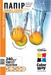 Colorway CW глянцевая 10x15 240г/м 100л