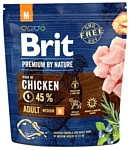 Brit (1 кг) Premium by Nature Adult M