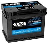 Exide Micro-Hybrid AGM EK600 (60Ah)