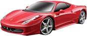 Maisto Ferrari 458 Italia (красный)