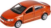 Технопарк Volkswagen Polo (коричневый)