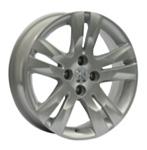 Replica PG23 7.5x17/4x108 D65.1 ET29 Silver