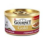 Gourmet Gold с курицей и печенью 0.085 кг