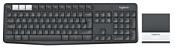 Logitech Multi-Device Stand Combo K375s Black Bluetooth
