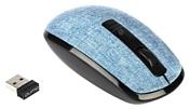 Qumo Jean M45 Black-Blue USB