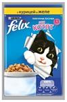 Felix (0.085 кг) 24 шт. Аппетитные кусочки с Курицей в желе для котят