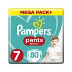 Pampers Pants 7 (17+ кг), 80 шт