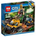 Lepin Cities 02064 Миссия: Исследование джунглей