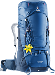 Deuter Aircontact 60+10 SL blue (steel midnight)
