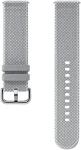 Samsung Kvadrat для Galaxy Watch Active2/Watch 42мм (серый)