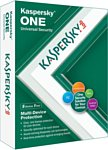 Kaspersky ONE (5 устройств, 1 год, продление, BOX)