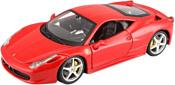 Bburago Ferrari 458 Italia 18-26003 (красный)