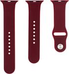 Evolution AW44-S01 для Apple Watch 42/44 мм (wine red)