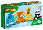 LEGO DUPLO 10955 Creative Play Мой первый поезд для зверей