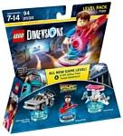 LEGO Dimensions 71201 Назад в будущее