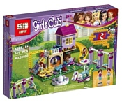 Lepin Friends 01050 Игровая площадка Хартлейк Сити аналог Lego 41325