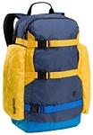 Burton Day Hiker 25 blue/yellow (night rider colorblock)