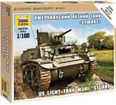 """Звезда Американский танк """"Стюарт"""""""
