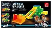 Ausini Gleam Bricks 25345 Бульдозер 3 в 1