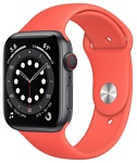 Apple Watch Series 6 GPS + Cellular 44mm Aluminum Case with Sport Band