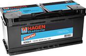 Hagen Starter 60001 (100Ah)