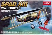 Academy Spad XIII WWI Fighter 1/72 12446
