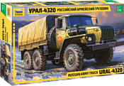 """Звезда Российский армейский грузовик """"Урал-4320"""""""