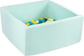 Misioo 90x90x40 200 шаров (мятный)