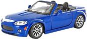 Bburago Mazda MX-5 Miata 18-22109 (синий)